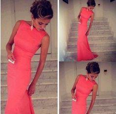 Best Verkauft! Damenkleider Abendkleider Partykleid Lang S M L Mermaid Günstig