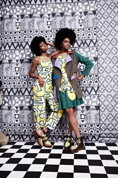 Tata Naka's African Inspired A/W Collection at London Fashion Week African Inspired Fashion, African Print Fashion, Fashion Prints, Fashion Design, African Textiles, African Fabric, African Print Clothing, African Prints, Glamour