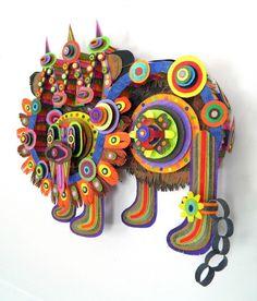 Michael Velliquette paper art_2