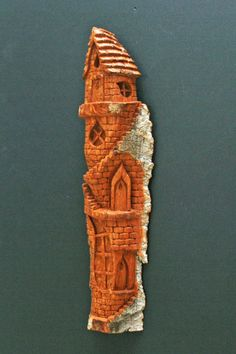 Whimsical House Carving by William Rogers