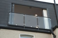glass balustrade loft conversion south london