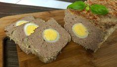 Pieczeń rzymska z jajkiem Snack Recipes, Snacks, Tzatziki, Beignets, Caramel, Blog, Eggs, Breakfast, Ethnic Recipes