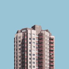 Stacked | Malte Brandenburg #photography #colors #isolate buildings #architecture