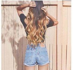 long hair styles curls