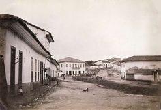 Bairro do Bixiga em 1862 - local onde os produtores de café das fazendas da região se reuniam.
