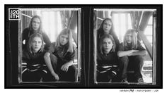 Photo 103 of 365  HANSON 1998 - Photo Shoot - USA	    Here are two original film frames on a contact sheet, of a shoot from 1998. We use contact sheets to select the final pictures from any shoot - which one of these do you prefer?     #Hanson #Hanson20th