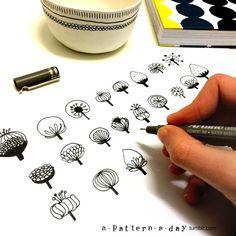 "a-pattern-a-day: ""Todays pattern in progress """