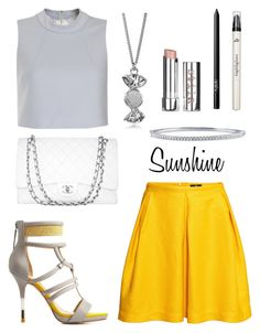 """""""Sunshine On A Cloudy Day"""" by warpedraspberry ❤ liked on Polyvore"""