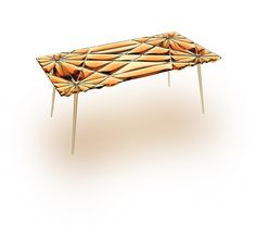 Tiffani Table by OFFICIAL