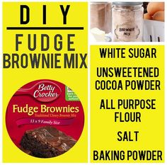 Brownie Mix | 15 Boxed Food Mixes You Never Have To Buy Again