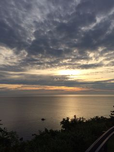 sunrise at japanese sea