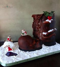 Holiday Mice ~ Home Sweet Home - Cake by Cake Heart