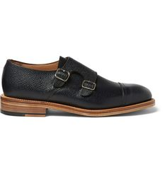 Mark McNairy Leather Monk-Strap Shoes | MR PORTER