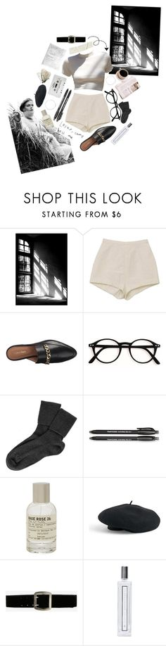"""b&w"" by nowire ❤ liked on Polyvore featuring Calvin Klein, Black, Paper Mate, CASSETTE, Le Labo, Venus, Express and Serge Lutens"