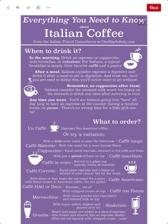 Ordering coffee in Italy!! SH