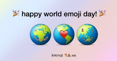 World Emoji Day, Easter Eggs, Happy