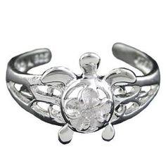 925 Silver Toe Ring Turtle Hawaiian Jewelry: http://www.amazon.com/Silver-Ring-Turtle-Hawaiian-Jewelry/dp/B003JX1V9E/?tag=greavidesto05-20