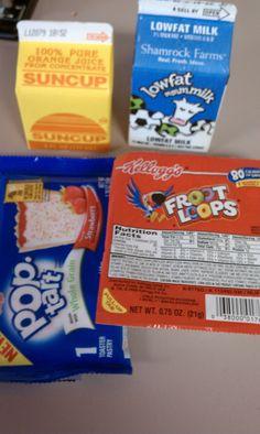 Same ol', same ol'. School Breakfast, Childhood Obesity, I School, Pure Products