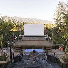 3 Awesome Outdoor Home Theater Systems