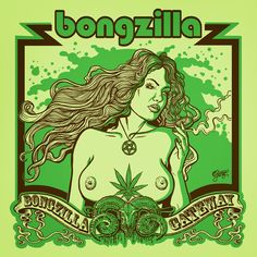 Bongzilla (Stamp art) on Behance