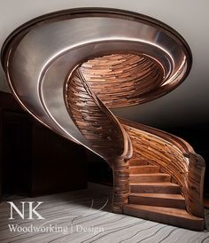 Hive Staircase by NK Woodworking