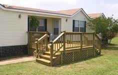 Diy Decks And Porch For Mobile Homes Porches Amp Decks