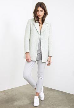 Luxe Boucl´e; Overcoat - Jackets & Coats  - Forever 21 EU, j'adore ce manteau il est en solde pour 37 euro 99 au lieux de 53 euro 45 !!!! I WANT IT !!! please ....
