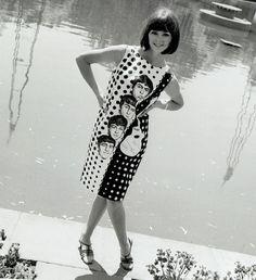 Beatlemania dress, 1960s.