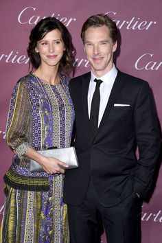 Benedict Cumberbatch and Sophie Hunter stole the spotlight. --- HOT DAMN he looks FINE. (Sophie looks pretty too! Love the dress!!)