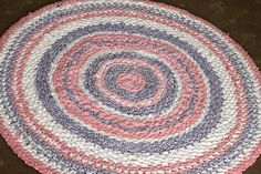 Rag Rug - My grandma showed me how to do this, but it's been so long ago I forgot how, so this tutorial helped me remember.