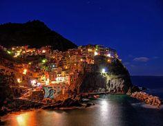The Cinque Terre on the Italian Riviera