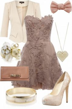 Wedding Fashion Outfit ... we all know i go to enough of them that im sure ill get to wear this soon lol
