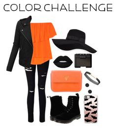 """""""happy halloween⚫️🔶"""" by emmerrr-kate ❤ liked on Polyvore featuring interior, interiors, interior design, home, home decor, interior decorating, Miss Selfridge, Rebecca Minkoff, Dr. Martens and Prada"""