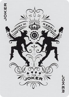 The Joker from Rebels Playing Cards