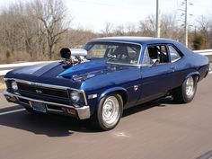 69 nova.   My dad had one of these about this year model too...It was yellow :) I will get this baby someday.