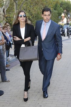 Luis Alfonso de Borbón y su esposa, Margarita Vargas © Gtresonline