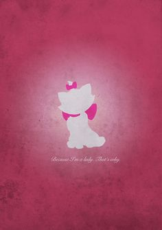 """""""Aristocats inspired design (Marie)."""" Posters by topshelf 