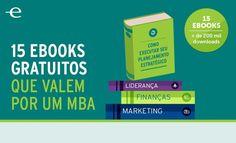 Os 15 eBooks sobre negócios para capacitar e inspirar os empreendedores. Confira os 15 eBooks separados pela Endeavor para complementar seus negócios.