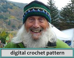 I originally sold these hats at the Aspen Saturday Market, high in the Rockies of Colorado. You can combine so many colorways, the possibilities are endless. Use a sturdy worsted acrylic yarn like Red Heart Supersaver or Lion Brand Vannas Choice yarn.  This hat looks good on women, men