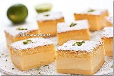 Smart cake - Prajitura desteapta - used 1 stick butter, 9 eggs, 200gr sugar, lemon zest. Baked it at 325F for 1 hour.