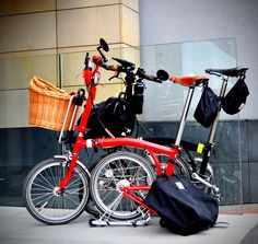 a #wicker basket for a #brompton bike? hey, why not?