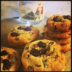Cranberry, Clementine and Chocolate Chip Cookie recipe