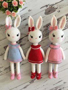 Amigurumi tavşanlar buny ınstagram feyzattkn