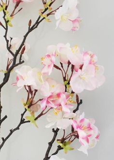Looking for hard to find flowers and artificial stems? Afloral has the largest selection of faux flower stems online. Shop Afloral for great deals on all your floral decorating needs. Pastel Flowers, Fake Flowers, Beautiful Flowers, Wedding Centerpieces, Wedding Decorations, Manzanita Branches, Branch Decor, Artificial Silk Flowers, Spring Wedding Flowers