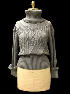 Designer: Jeannie (Ji Young) Kim knitGrandeur®: FIT & Baruffa 2/30s Cashwool Collaboration: Term Garment Project, Part II