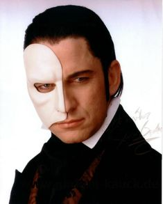 Gerard Butler in Phantom Of The Opera - amazing voice! I'd go see him in concert. He does a mean Mustang Sally and Galway Girl