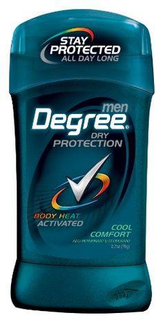 Degree Men  Anti-Perspirant & Deodorant, Cool Comfort 2.7 Ounce (Pack of 6) Degree