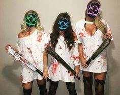 Tendencias 2018 Tendencias 2018 The post Tendencias 2018 & Karneval appeared first on Halloween costumes . Best Friend Halloween Costumes, Halloween Outfits, Halloween Costumes Women Scary, Friend Costumes, Costumes For Women, Hollween Costumes, Costume Ideas, Group Costumes, Trio Costumes