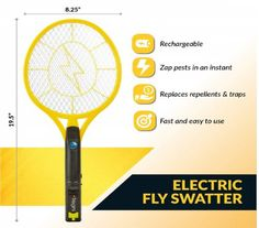 Best Mosquito Rackets in 2019 Reviews - disneySMMoms Mosquito Zapper, Bug Zapper, Electric Bug, Tire Swings, Flying Insects, Good Environment, Rackets, Things To Come