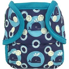 Amazon.com : Bummis Swimmi Cloth Diapers, Bubbles, Small (9-15 lbs) : Infant And Toddler Reusable Swim Diapers : Baby